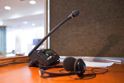 Interpretation Equipment Rental